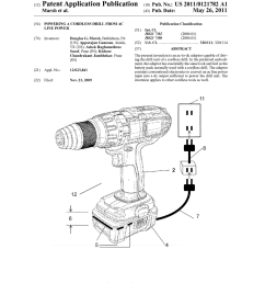 powering a cordless drill from ac line power diagram schematic cordless drill diagram cordless drill diagram [ 1024 x 1320 Pixel ]