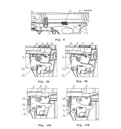 magazine dependent safety mechanism of a handgun diagram schematic and image 05 [ 1024 x 1320 Pixel ]