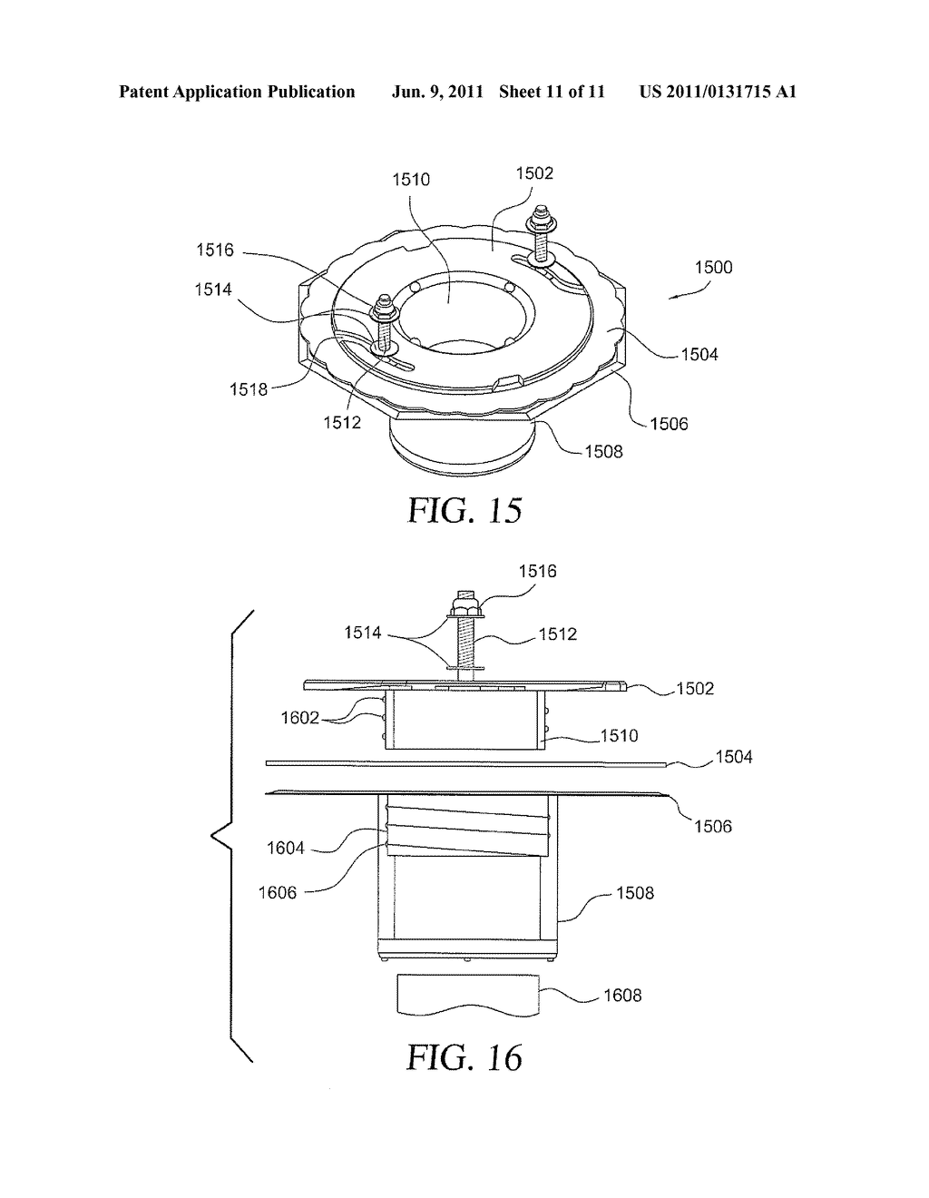 hight resolution of diagram of a flange