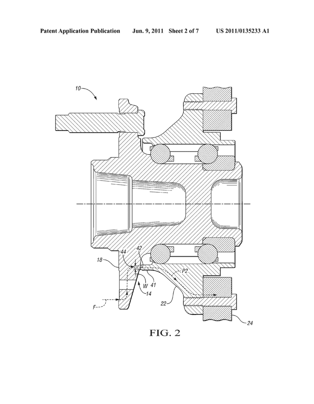 medium resolution of apparatus with secondary load path for vehicle wheel bearing assembly diagram schematic and image 03