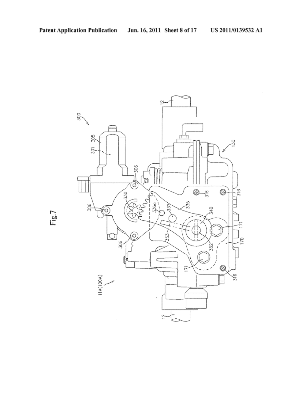 medium resolution of hydraulic motor unit and hydraulic four wheel drive working vehicle diagram schematic and image 09