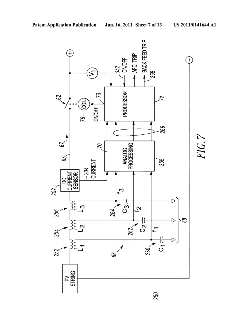 medium resolution of direct current arc fault circuit interrupter direct current arc fault detector noise blanking circuit