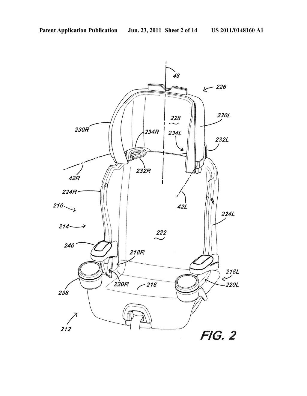 Car Seat Diagram