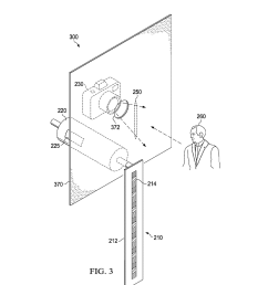 videoconferencing terminal with a persistence of vision display and a method of operation thereof to maintain eye contact diagram schematic and image 05 [ 1024 x 1320 Pixel ]