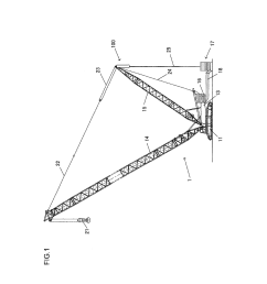 counterweight suspension device and mobile crane diagram schematic and image 02 [ 1024 x 1320 Pixel ]