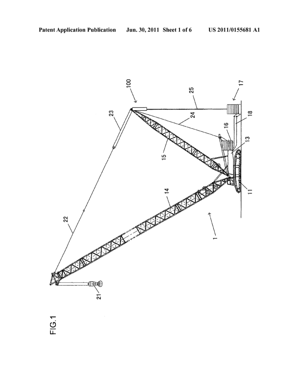 medium resolution of counterweight suspension device and mobile crane diagram schematic and image 02