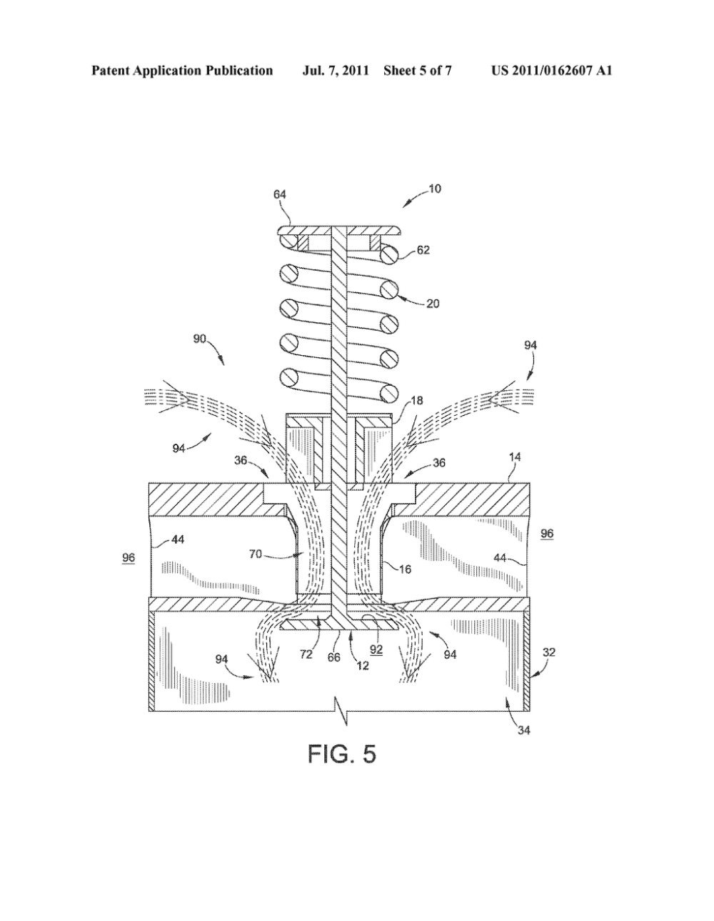 medium resolution of single poppet valve cylinder head assembly for internal combustion engine diagram schematic and image 06