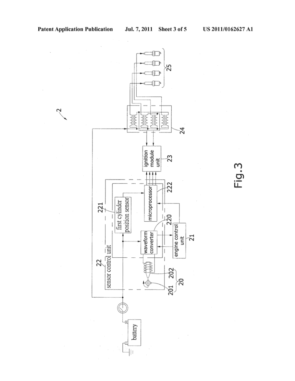medium resolution of mixed electronic ignition system integrated with a distributor structure and an engine control unit diagram schematic and image 04