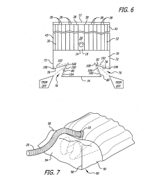 surgical barrier device incorporating an inflatable thermal blanket with an attached surgical drape diagram schematic and image 04 [ 1024 x 1320 Pixel ]