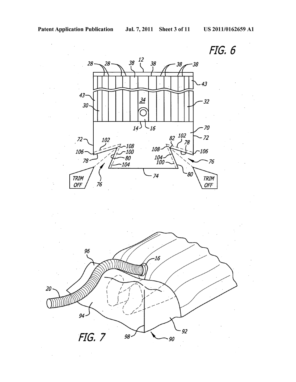 hight resolution of surgical barrier device incorporating an inflatable thermal blanket with an attached surgical drape diagram schematic and image 04