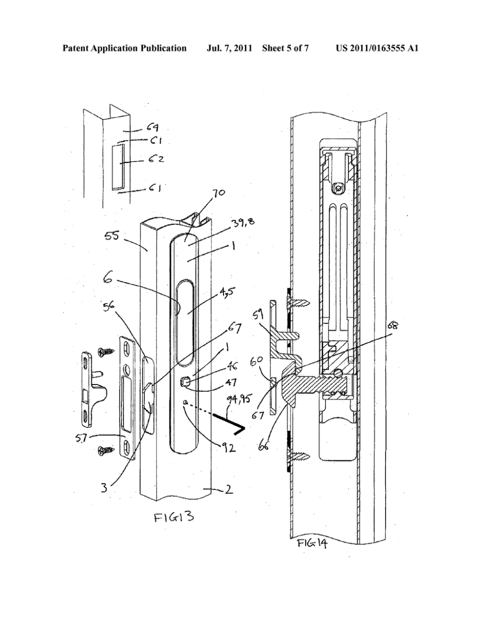 medium resolution of sliding door and window locks diagram schematic and image 06 door parts diagram sliding door diagram