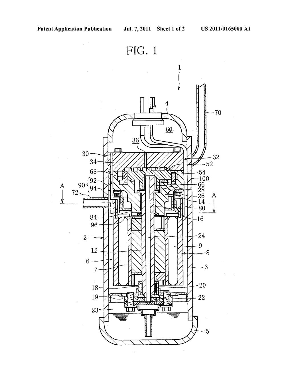 hight resolution of hermetic compressor diagram