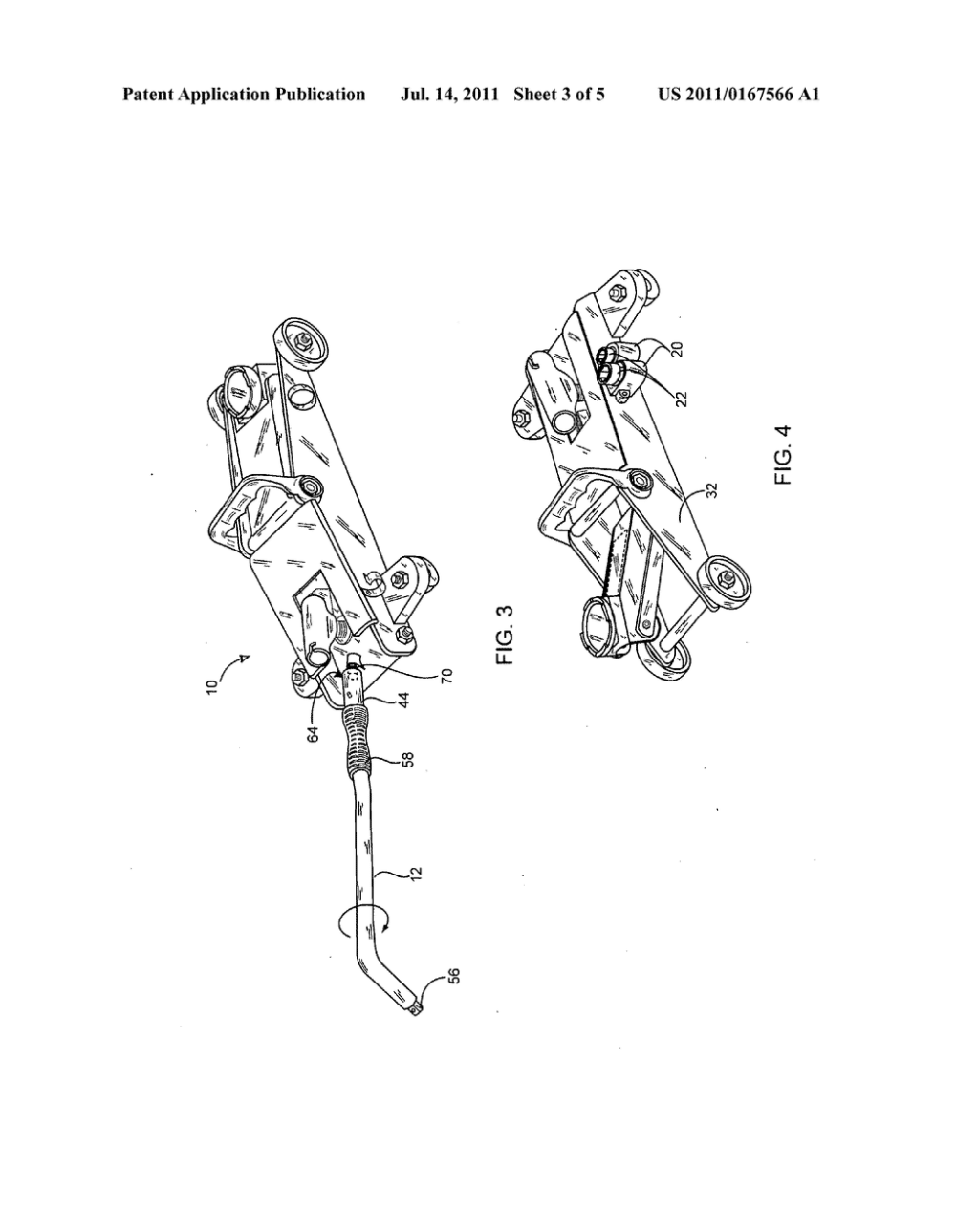 medium resolution of combined car jack and lug wrench assembly diagram schematic andcombined car jack and lug