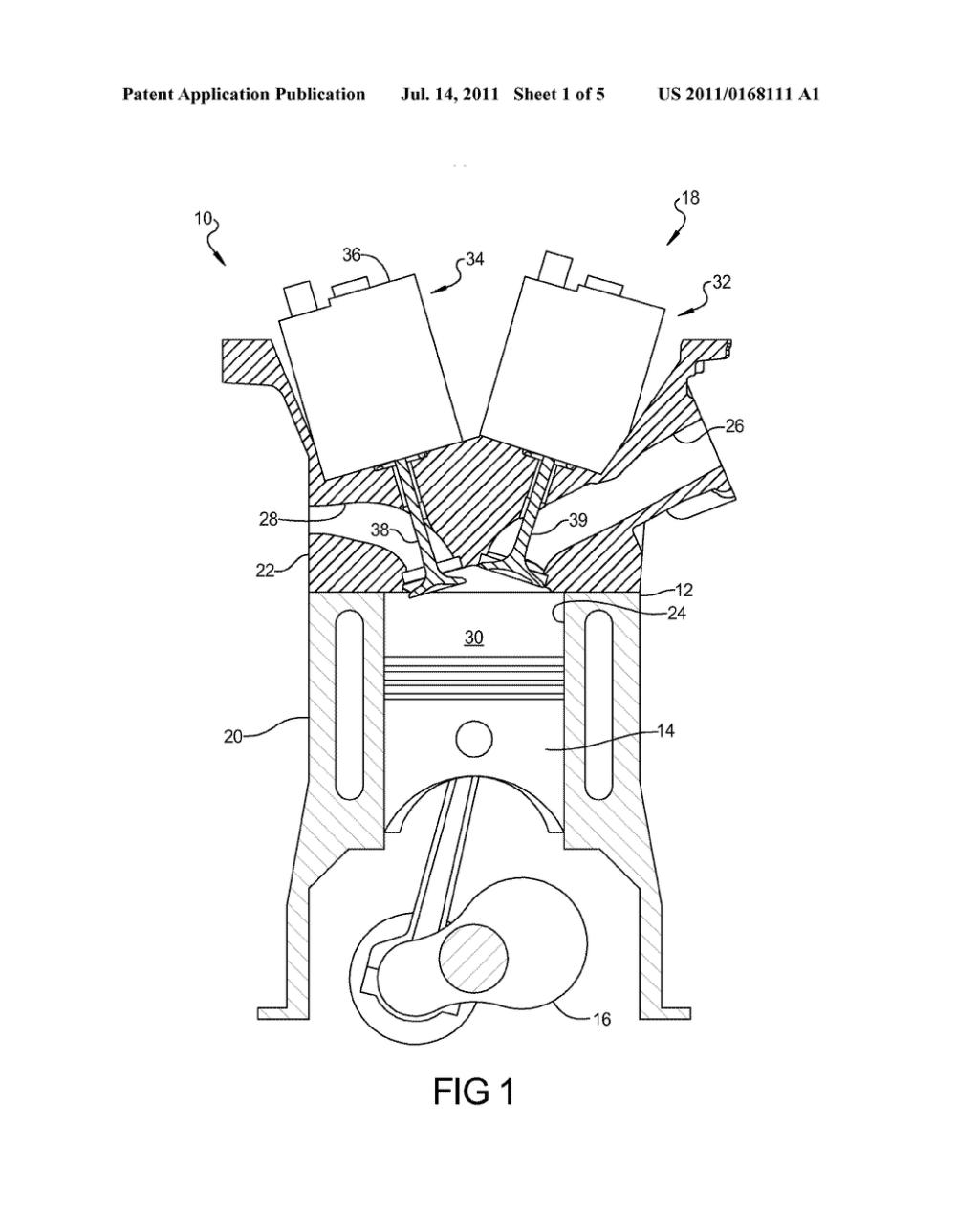 medium resolution of engine including hydraulically actuated valvetrain and method of rh patentsencyclopedia com overhead valve engine diagram engine