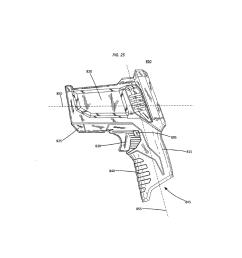 test and measurement device with a pistol grip handle diagram pistol grip diagram [ 1024 x 1320 Pixel ]
