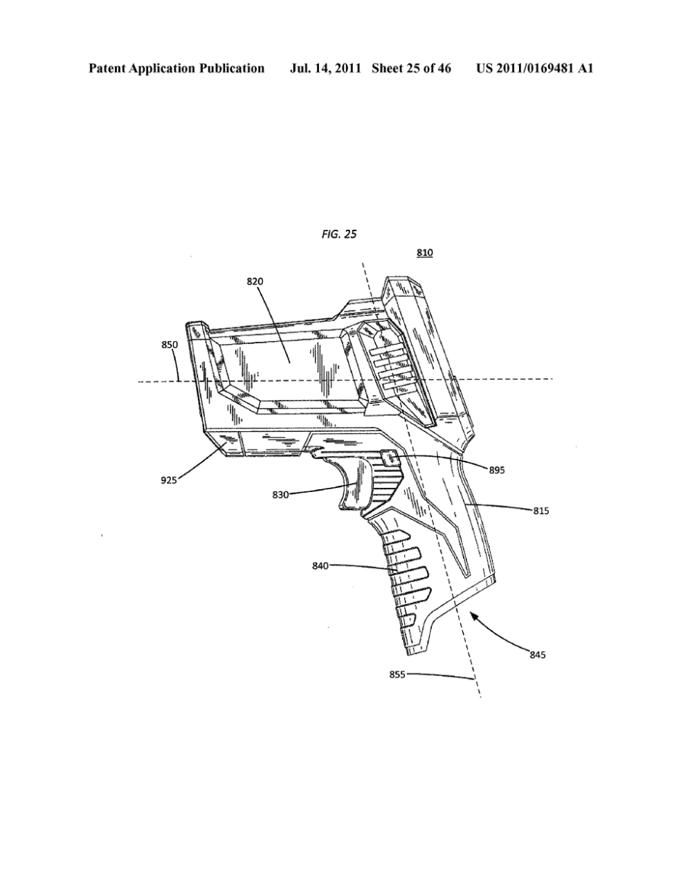 medium resolution of test and measurement device with a pistol grip handle diagram pistol grip diagram