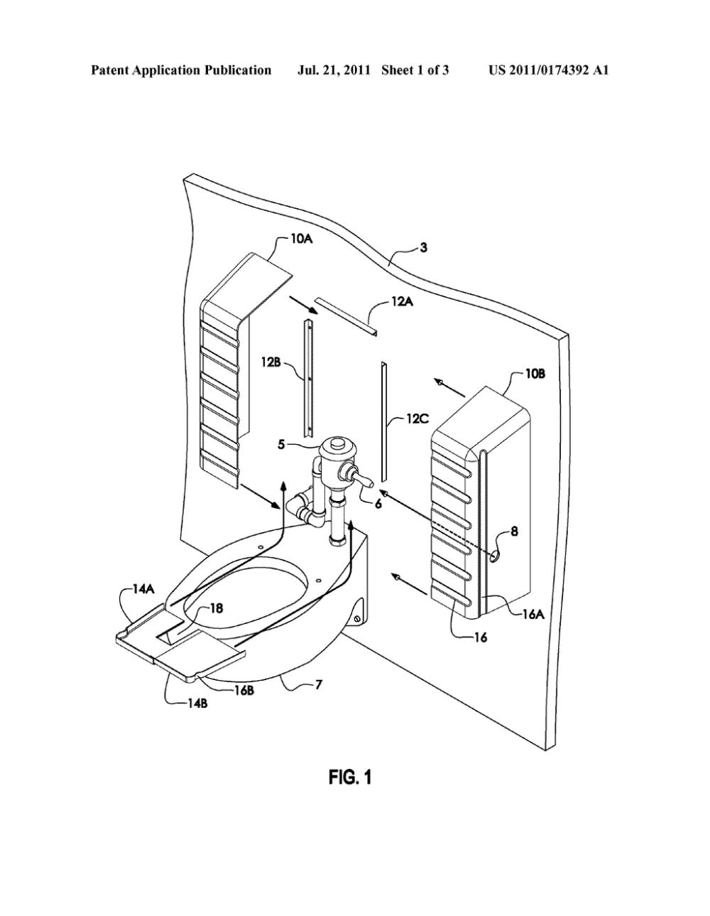 medium resolution of adaptable shroud for toilet plumbing riser diagram schematic and image 02