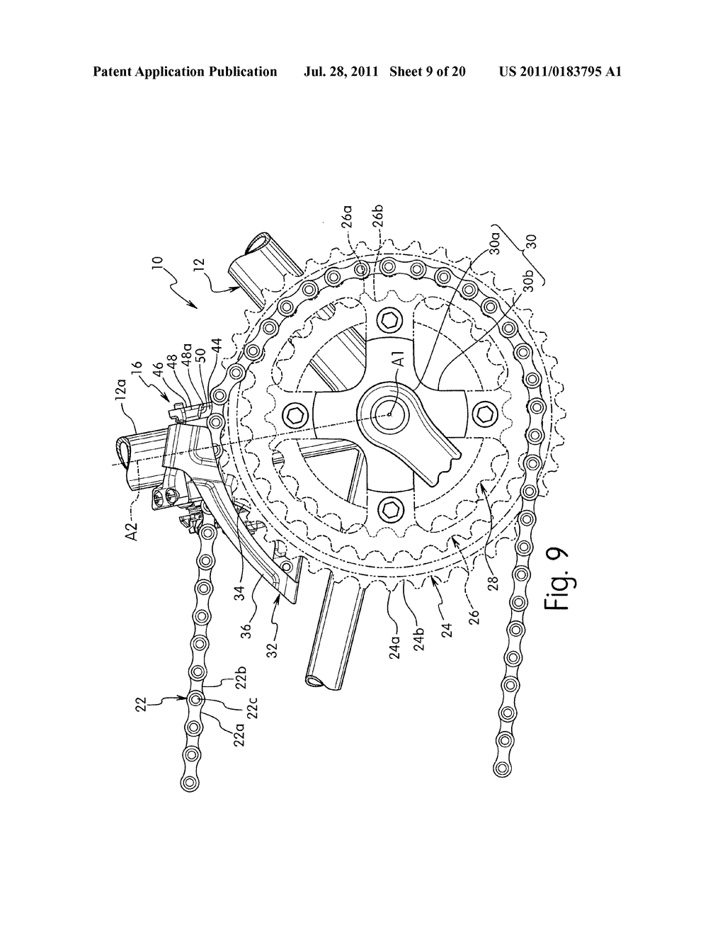 Bicycle Structure Diagram