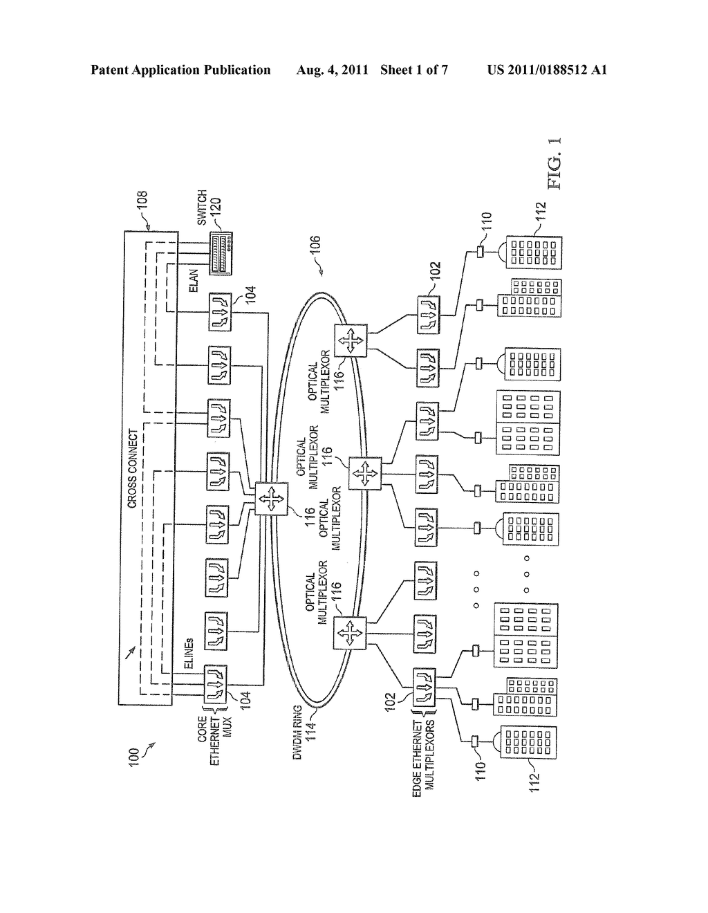 hight resolution of cross connect using ethernet multiplexors for a simple metro ethernet network diagram schematic and image 02