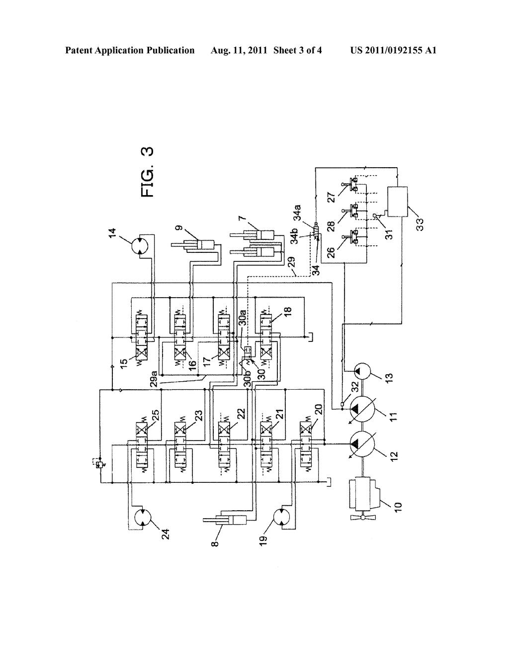 hight resolution of hydraulic drive device for hydraulic excavator diagram schematic and image 04