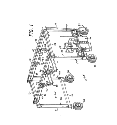 powered auxiliary hoist mechanism for a gantry crane diagram schematic and image 02 [ 1024 x 1320 Pixel ]