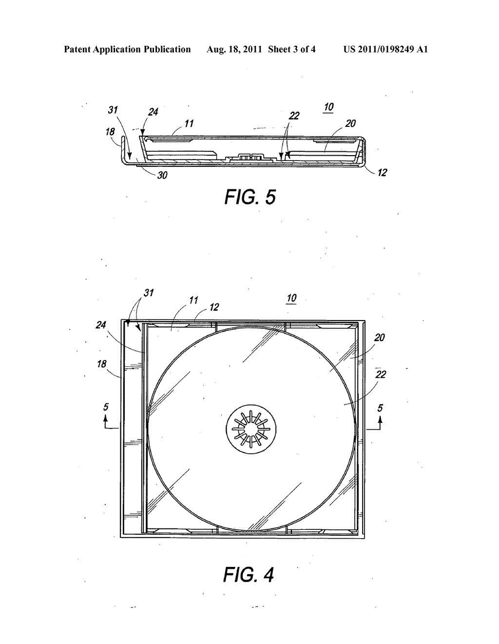 hight resolution of compact disk cd jewel case hinge storage apparatus and marketing method diagram schematic and image 04
