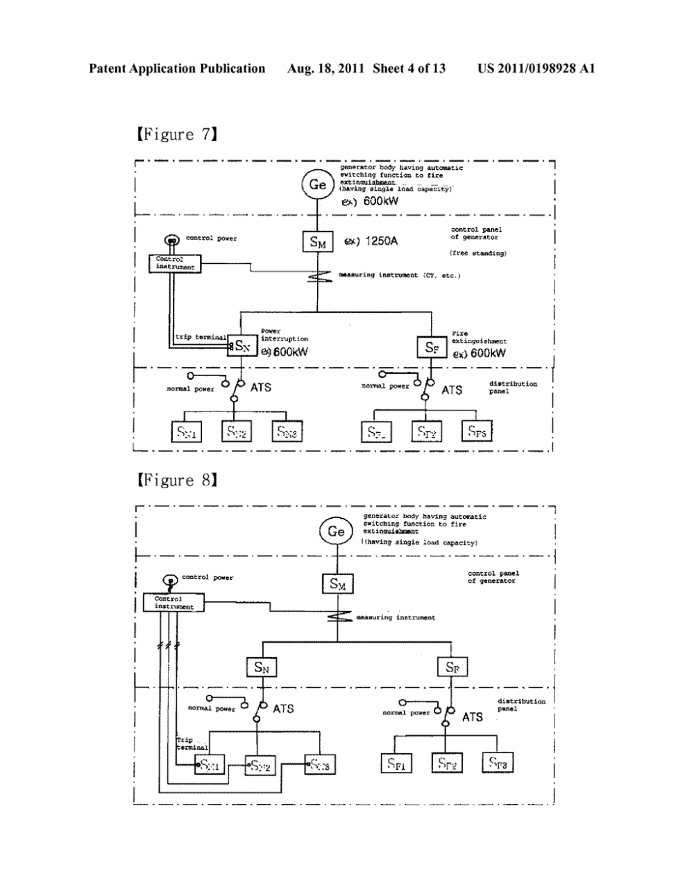medium resolution of emergency generator power system with reserved fire protection power diagram schematic and image 05