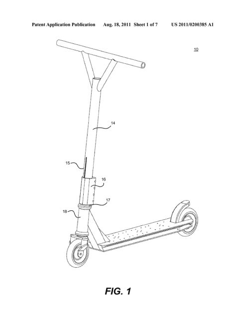 small resolution of threadless fork compression system and method for kick style scooter diagram schematic and image 02