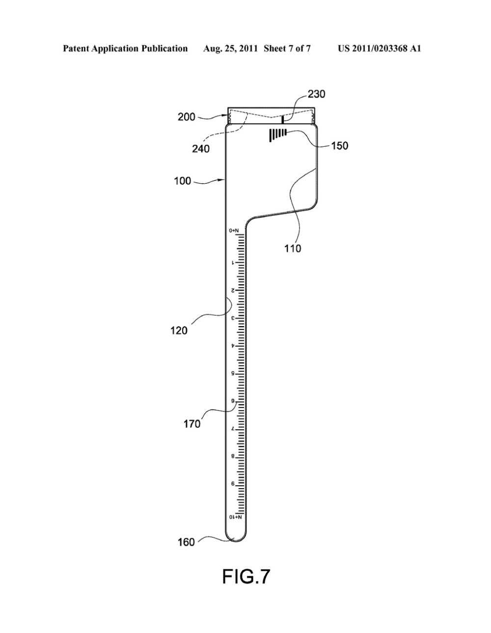 medium resolution of special measuring bottle for measuring volume of solid diagram schematic and image 08