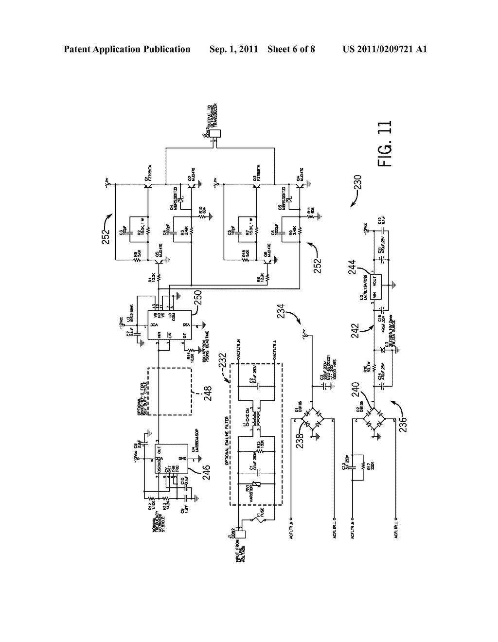 Ultrasonic Circuit Diagram