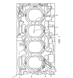 engine block assembly for internal combustion engine diagram schematic and image 02 [ 1024 x 1320 Pixel ]