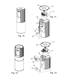 dispensing part for a water cooler and water cooler comprising such a part diagram schematic and image 08 [ 1024 x 1320 Pixel ]