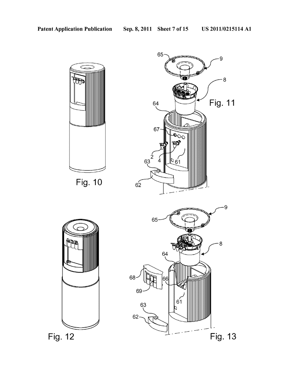 hight resolution of dispensing part for a water cooler and water cooler comprising such a part diagram schematic and image 08