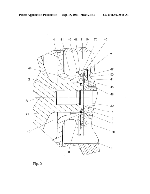 small resolution of device for sealing a bearing housing of an exhaust gas turbocharger diagram schematic and image 03