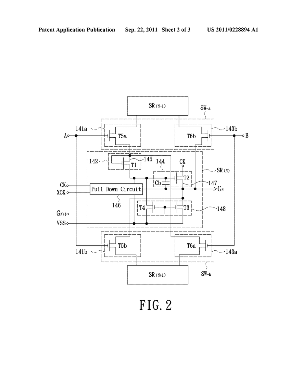 medium resolution of shift register circuit and gate driving circuit diagram schematic and image 03