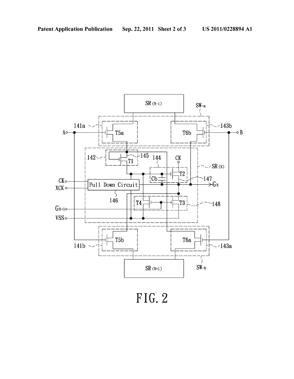 hight resolution of shift register circuit and gate driving circuit diagram schematic and image 03