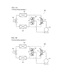 flow reversing valve and heat pump device using same diagram schematic and image 05 [ 1024 x 1320 Pixel ]
