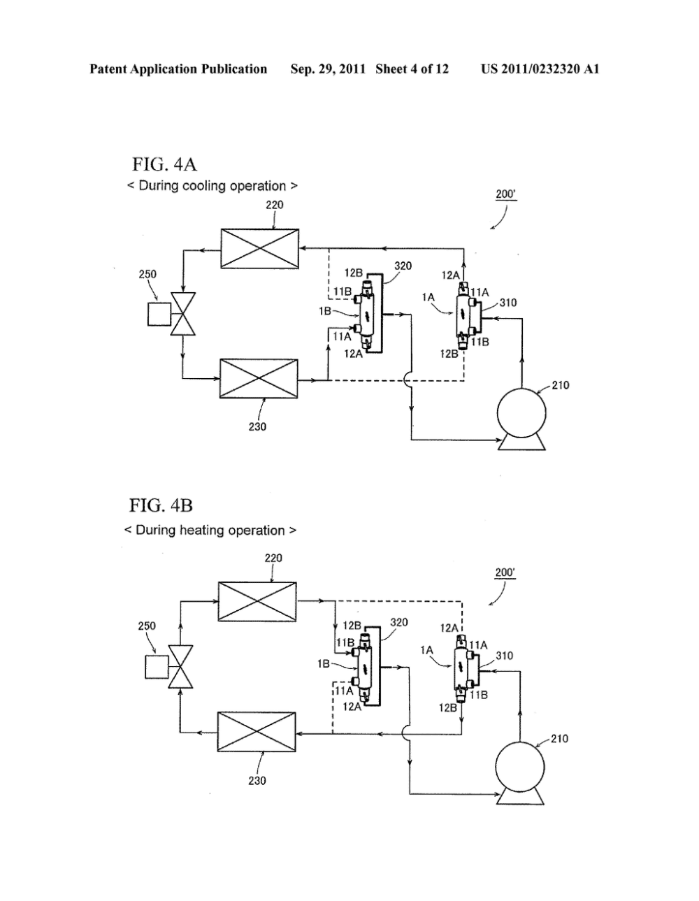 medium resolution of flow reversing valve and heat pump device using same diagram schematic and image 05