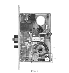 mortise lock with dual reverse lockout mechanism diagram mortise lock diagram mortise lock diagram [ 1024 x 1320 Pixel ]