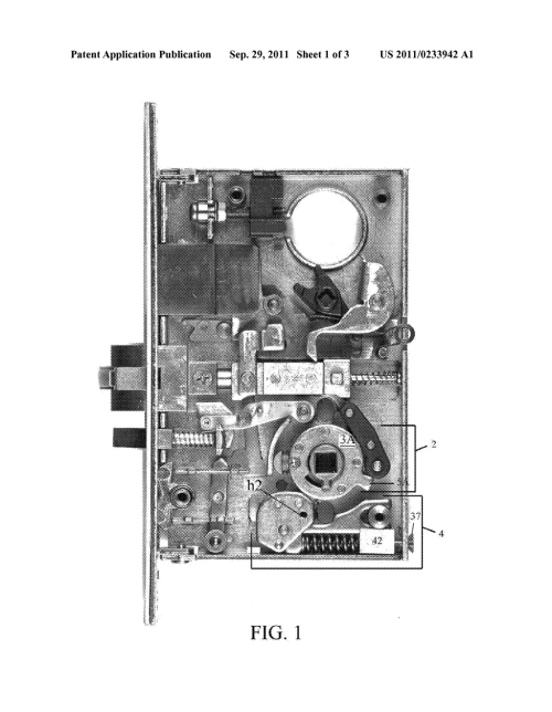small resolution of mortise lock with dual reverse lockout mechanism diagram mortise lock diagram mortise lock diagram