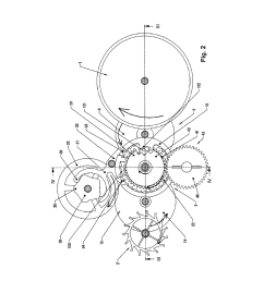 clock movement containing a constant force device diagram schematic and image 03 [ 1024 x 1320 Pixel ]