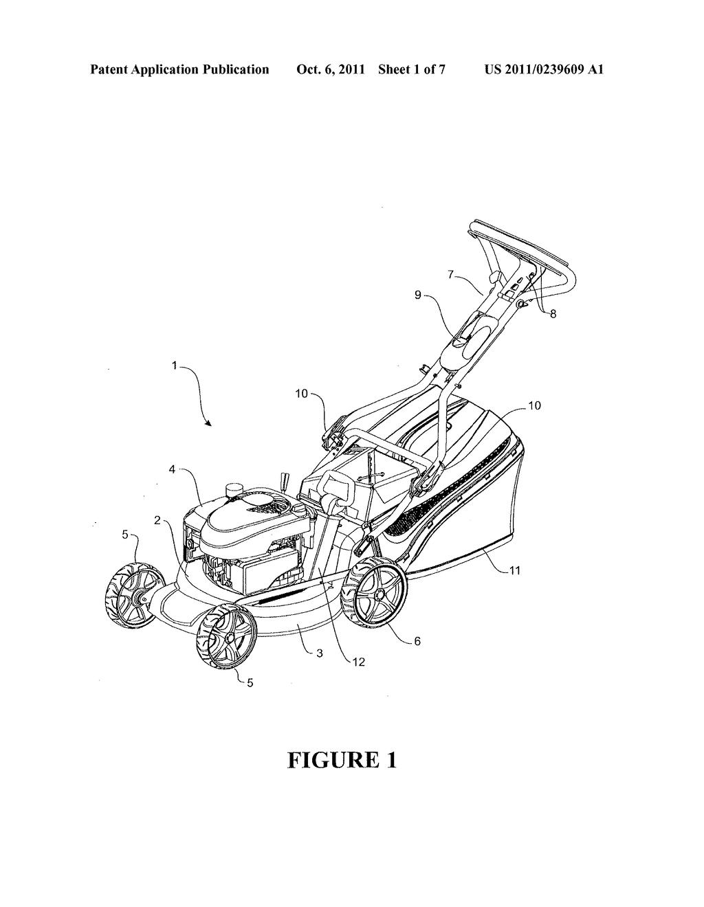 Self Propelled Mower Diagram. Catalog. Auto Parts Catalog