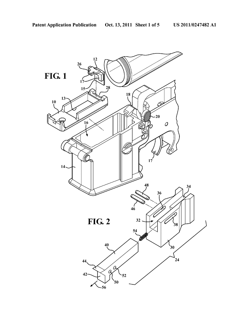 hight resolution of drop bolt hold open actuator for use with ar 15 m16 type firearms and incorporating a modified and displaceable follower for engaging a bolt catch mechanism