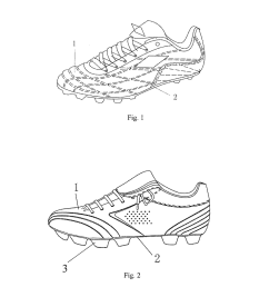 diagram of shoe [ 1024 x 1320 Pixel ]