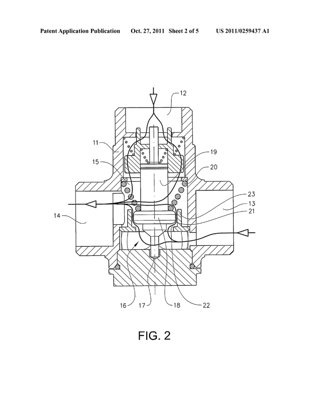 medium resolution of thermostatic mixing valve for a domestic heating system diagram schematic and image 03