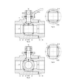 ball valve seats and ball valves designed with equilateral triangle section methods diagram schematic and image 02 [ 1024 x 1320 Pixel ]