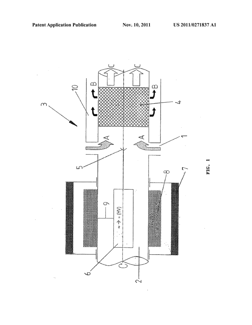 medium resolution of centrifugal oil separator for an aircraft engine diagram schematic and image 02