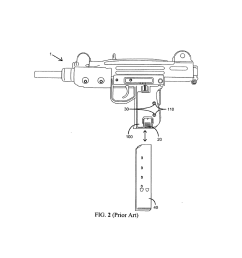 detachable magazine lock grip for uzi firearm diagram schematic and image 03 [ 1024 x 1320 Pixel ]