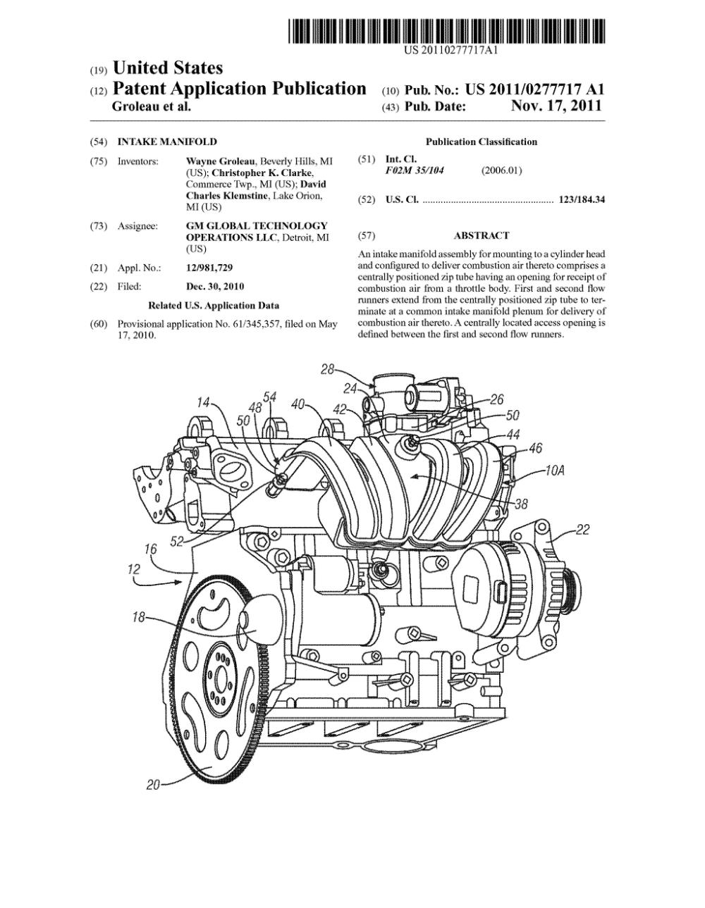 medium resolution of engine with intake manifold diagram