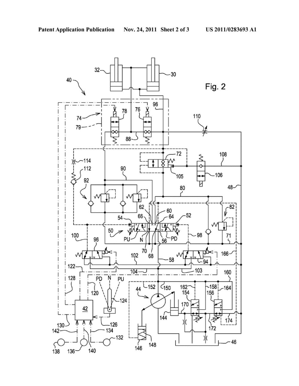 medium resolution of regenerative hydraulic circuit for dump truck bin lift cylinder mack dump trucks dump truck schematic